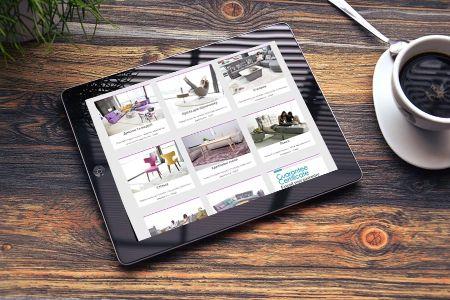 FamaLiving KIEW - Landing page дизайн та розробка