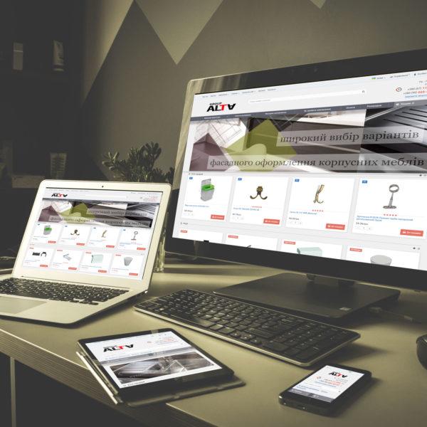 Створення інтернет-магазину alta-group.com.ua